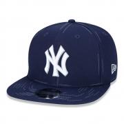 Boné New Era 9fifty Mlb New York Yankees Core Sabby Stitch