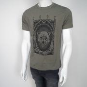 Camiseta Code Cursed Verde Mescla - P