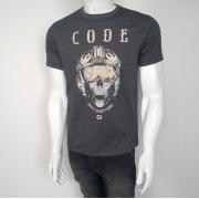 Camiseta Code Helmet Chumbo - P