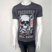 Camiseta Freesurf Riders Chumbo - P