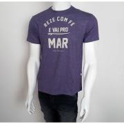 Camiseta VLCS Litoranea Fé Roxo - M