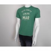 Camiseta VLCS Litoranea Fé Verde - M