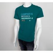 Camiseta VLCS Litoranea Palavras Verde - M