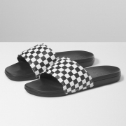 Chinelo Vans Slide On La Costa True White Black