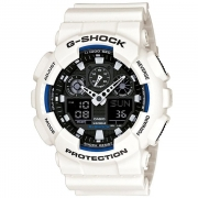 Relógio Casio G-Shock Branco GA-100B-7ADR