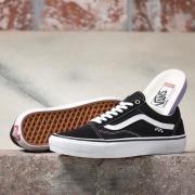 Tênis Vans Old Skool Skate Black White
