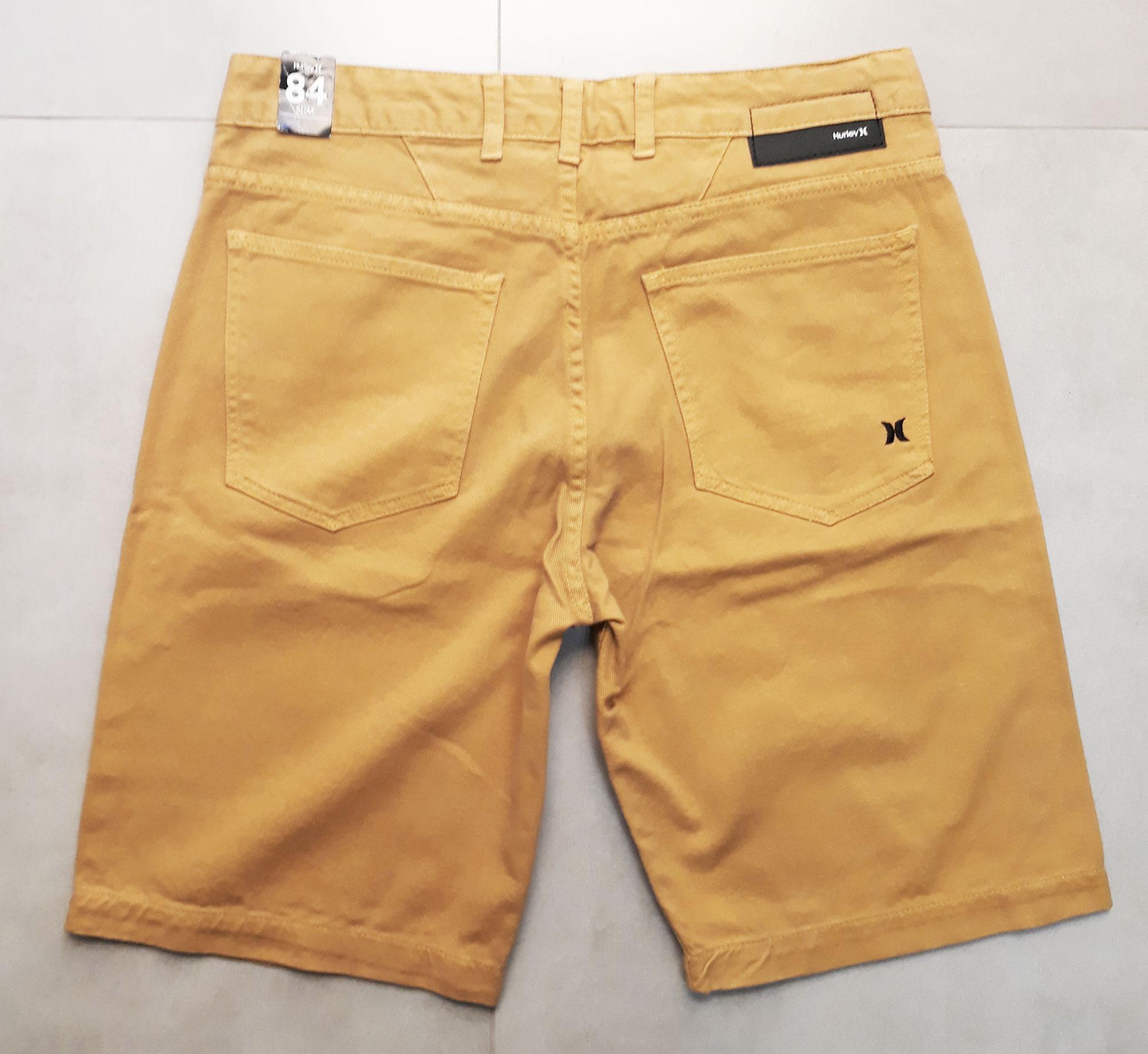 Bermuda Jeans Hurley Mostarda - 40