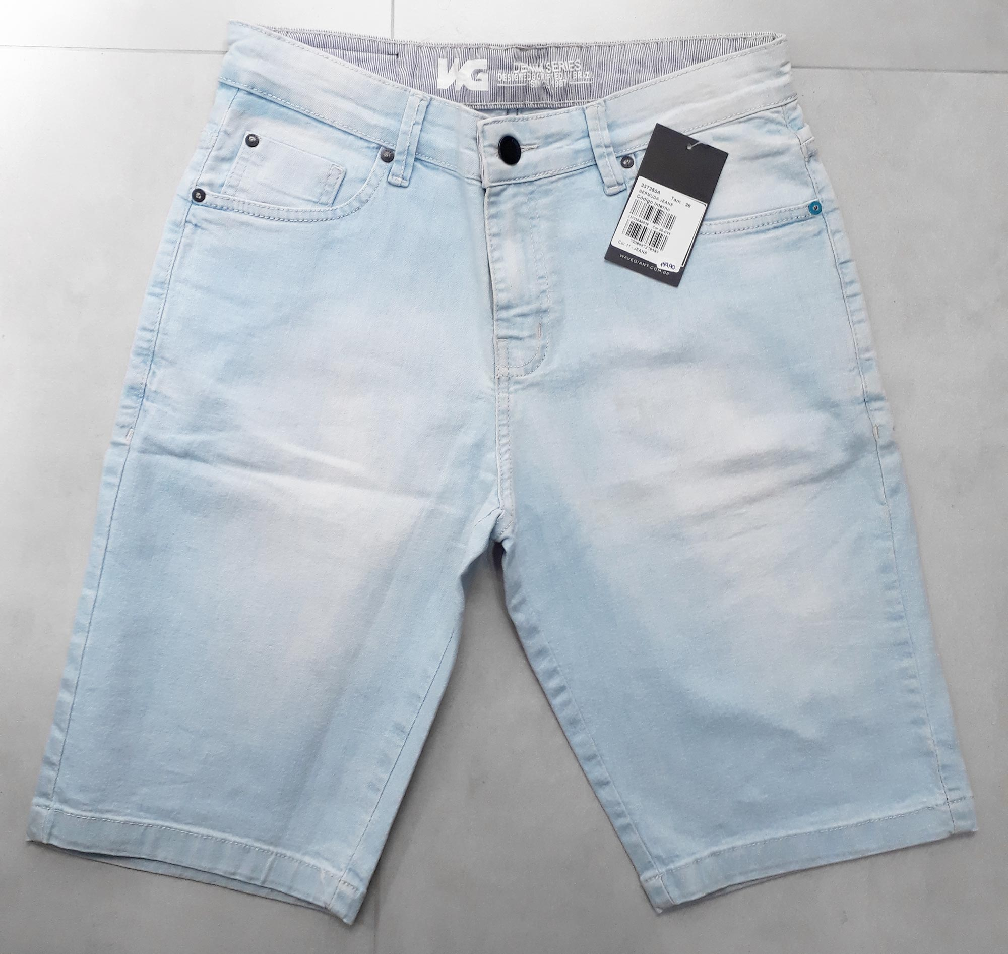 Bermuda Jeans WG Claro - 38