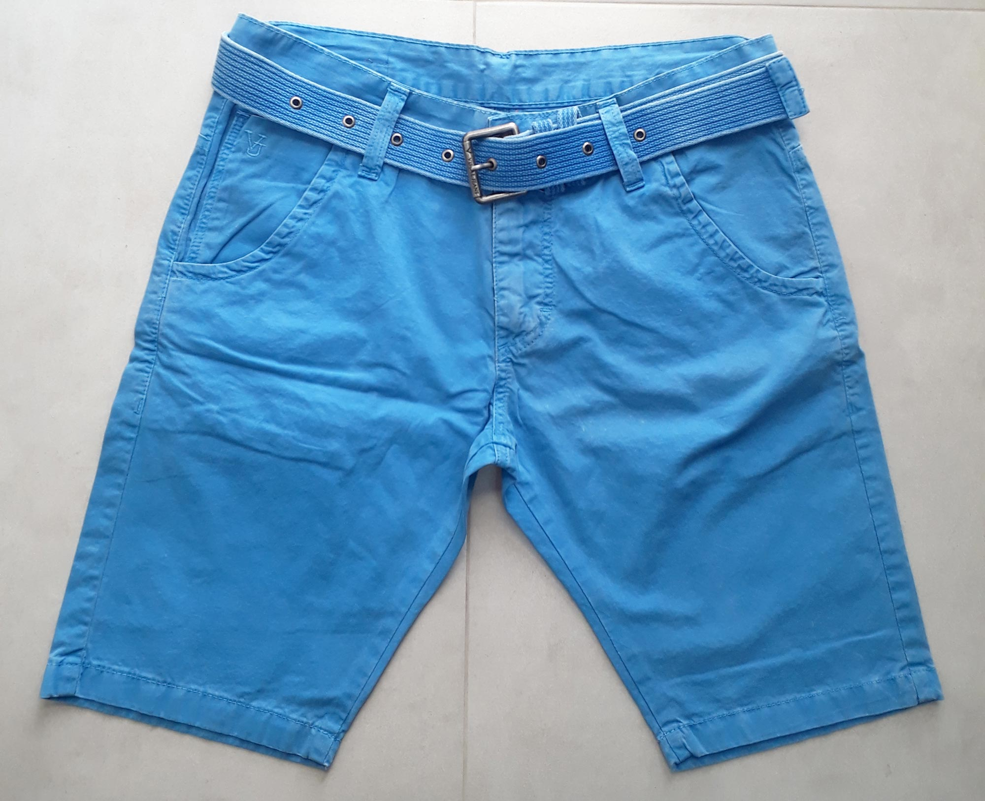 Bermuda Walk Visual Jeans Azul - 36