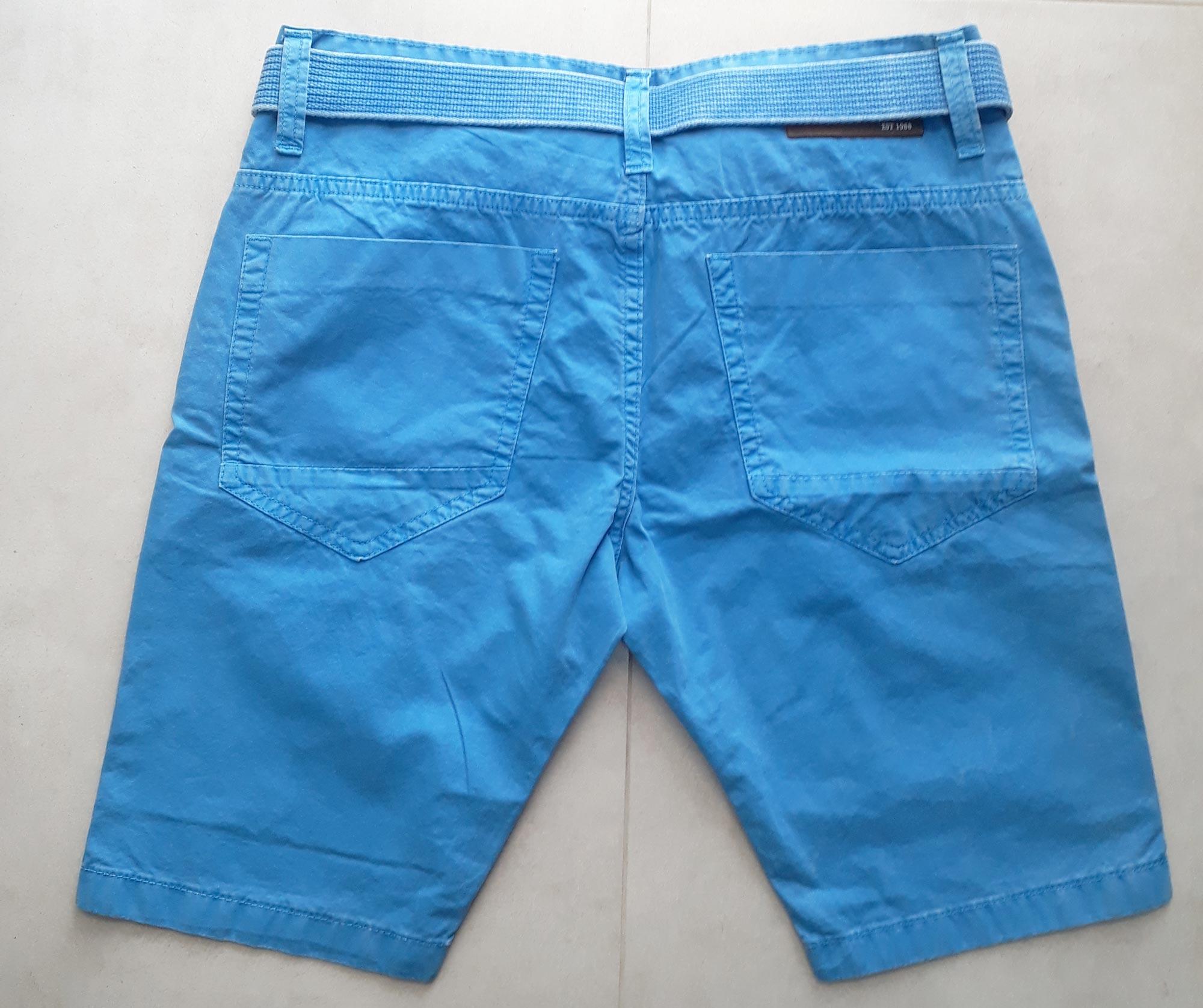Bermuda Walk Visual Jeans Azul - 36