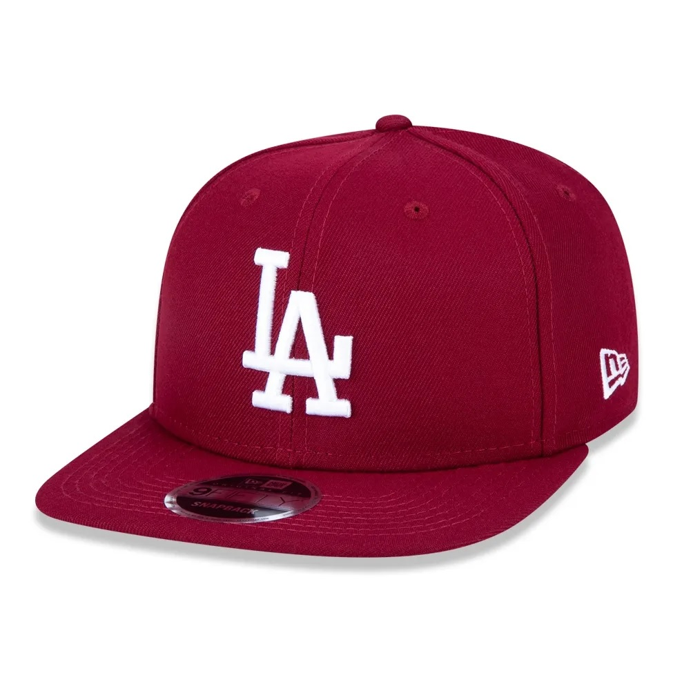 Boné New Era 9fifty Mlb Los Angeles Dodgers Bordo