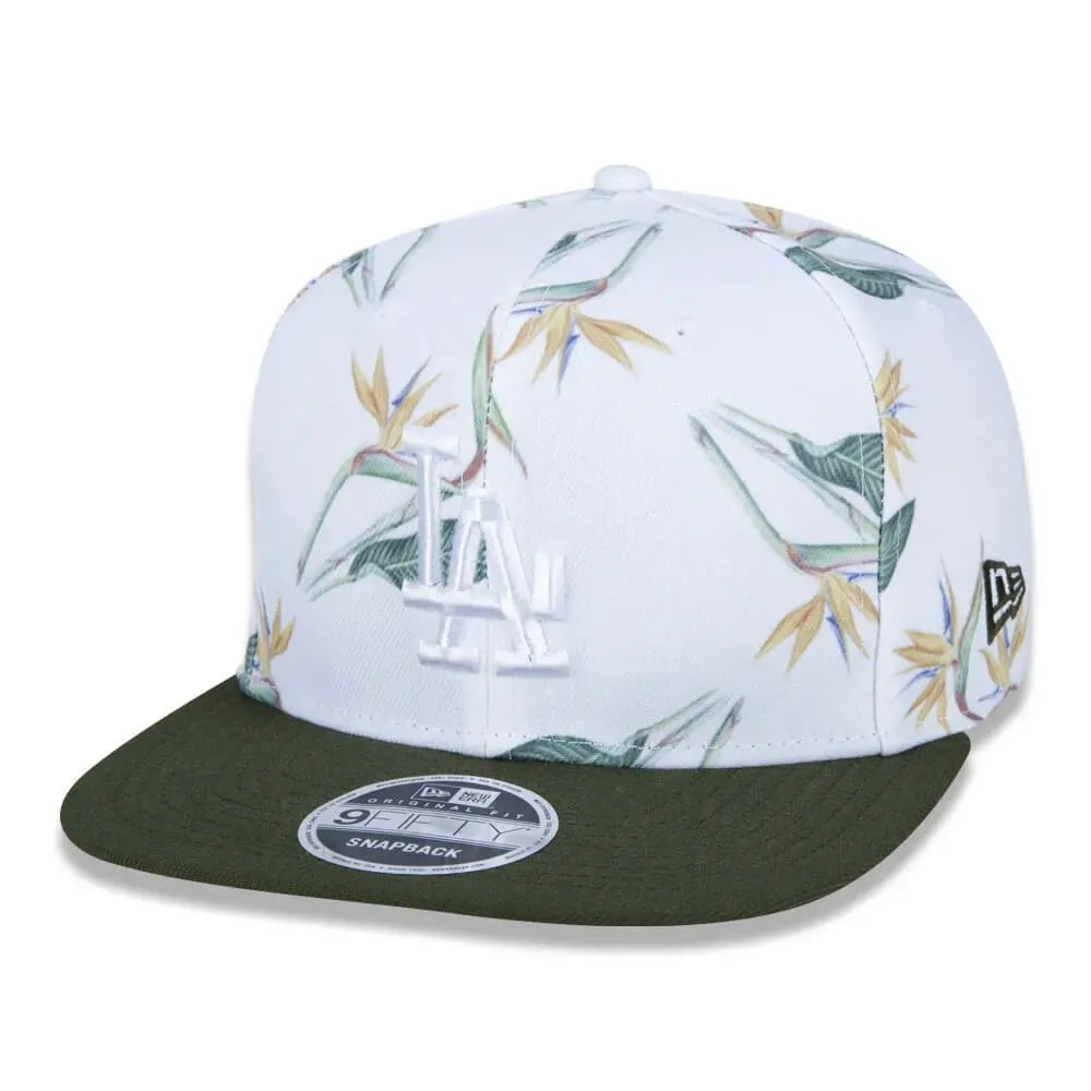 Boné New Era 9fifty Mlb Los Angeles Dodgers Botany Full