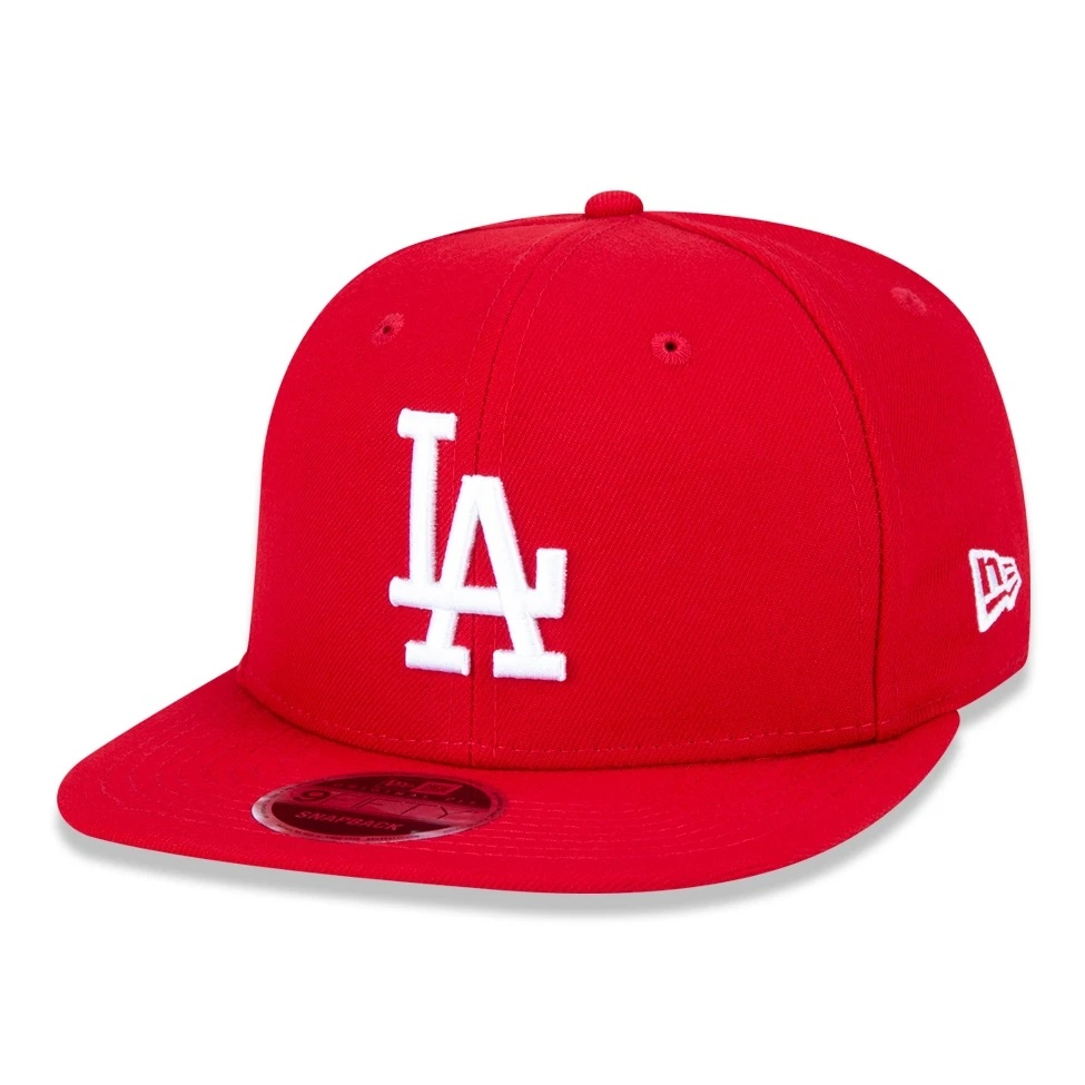 Boné New Era 9fifty Mlb Los Angeles Dodgers Vermelho
