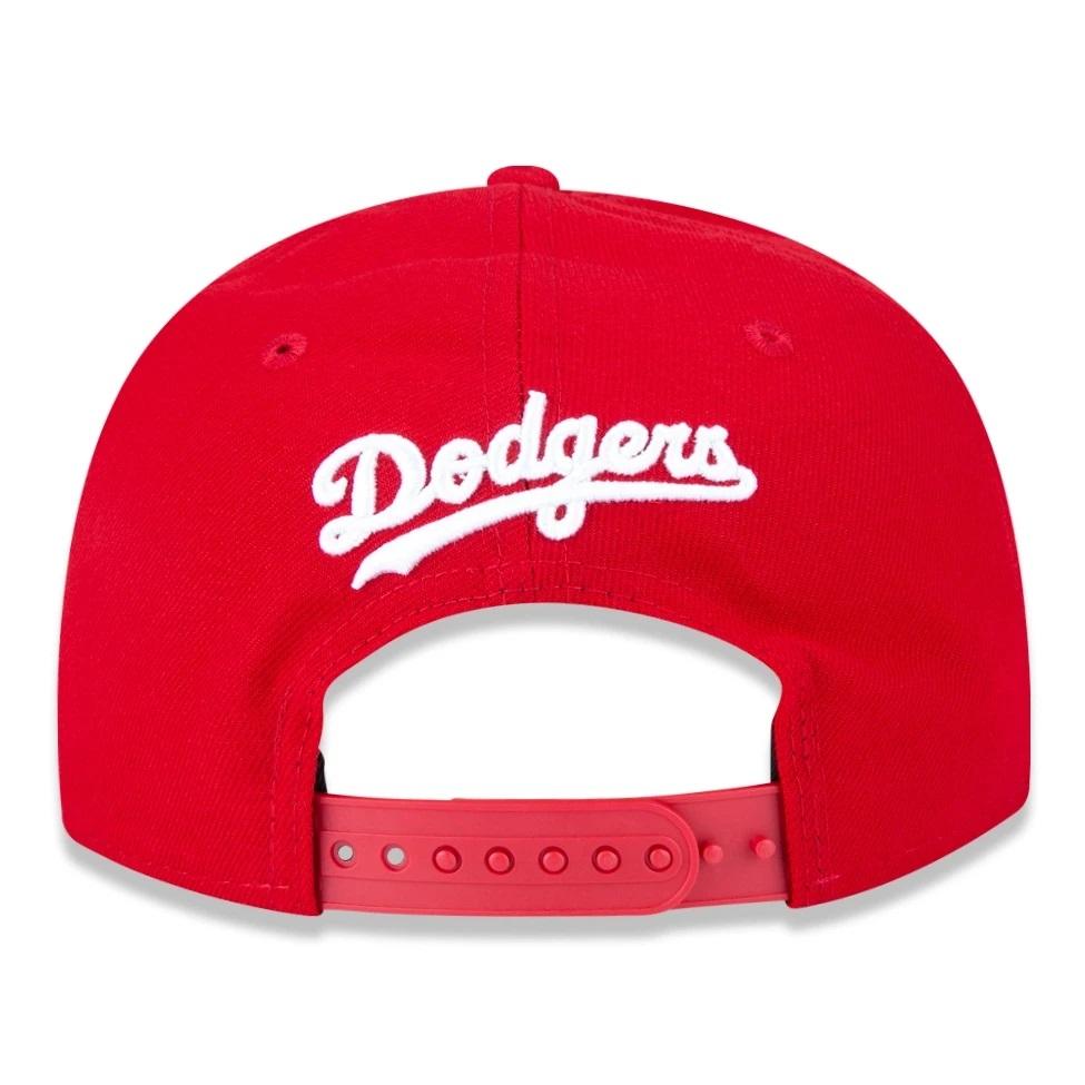 Boné New Era 9fifty Mlb Los Angeles Dodgers Vermelho