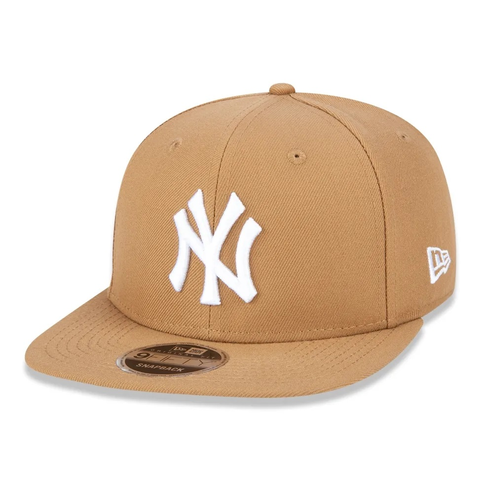 Boné New Era 9fifty Mlb New York Yankees Bege