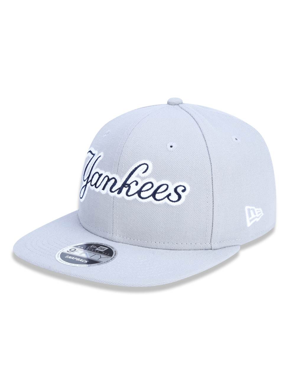 Boné New Era 9fifty Mlb New York Yankees Cinza