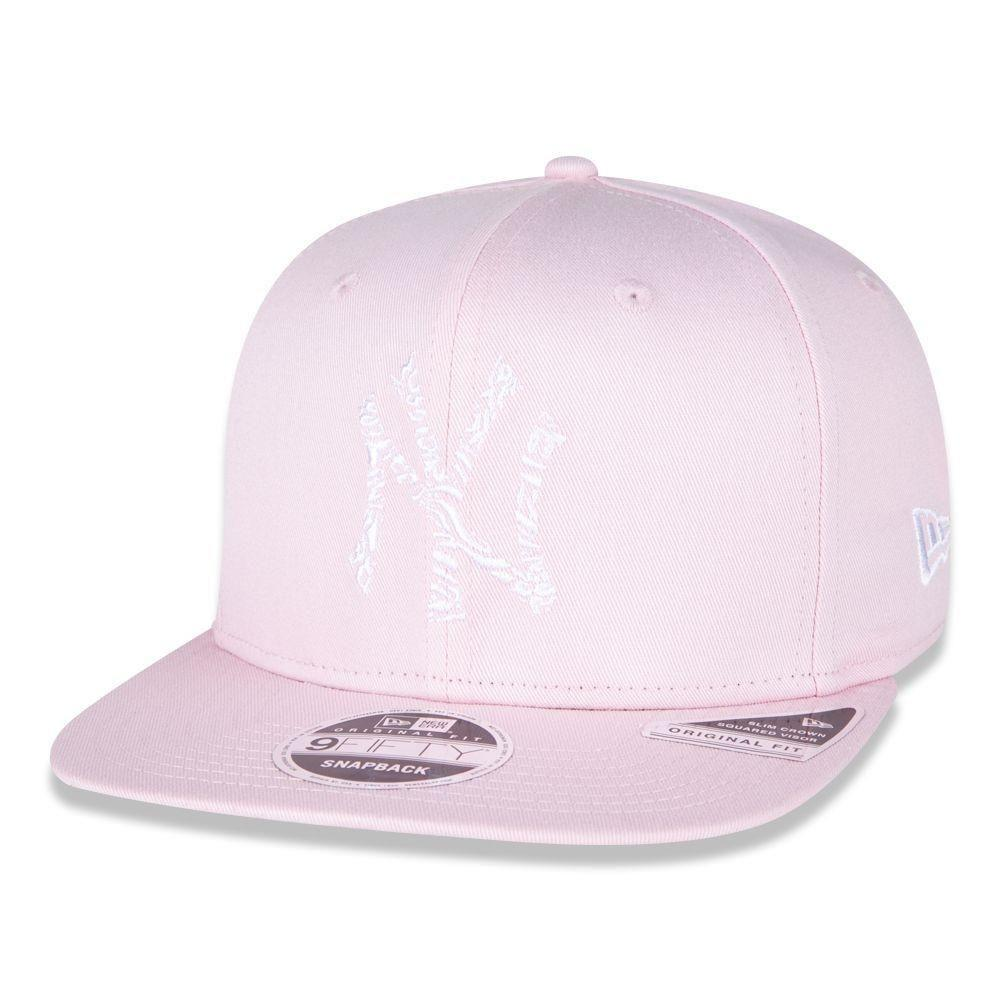 Boné New Era 9fifty Mlb New York Yankees Rosa