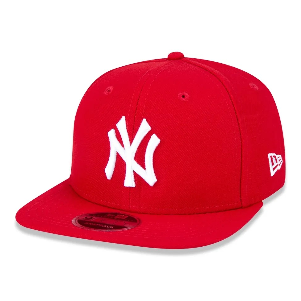 Boné New Era 9fifty Mlb New York Yankees Vermelho
