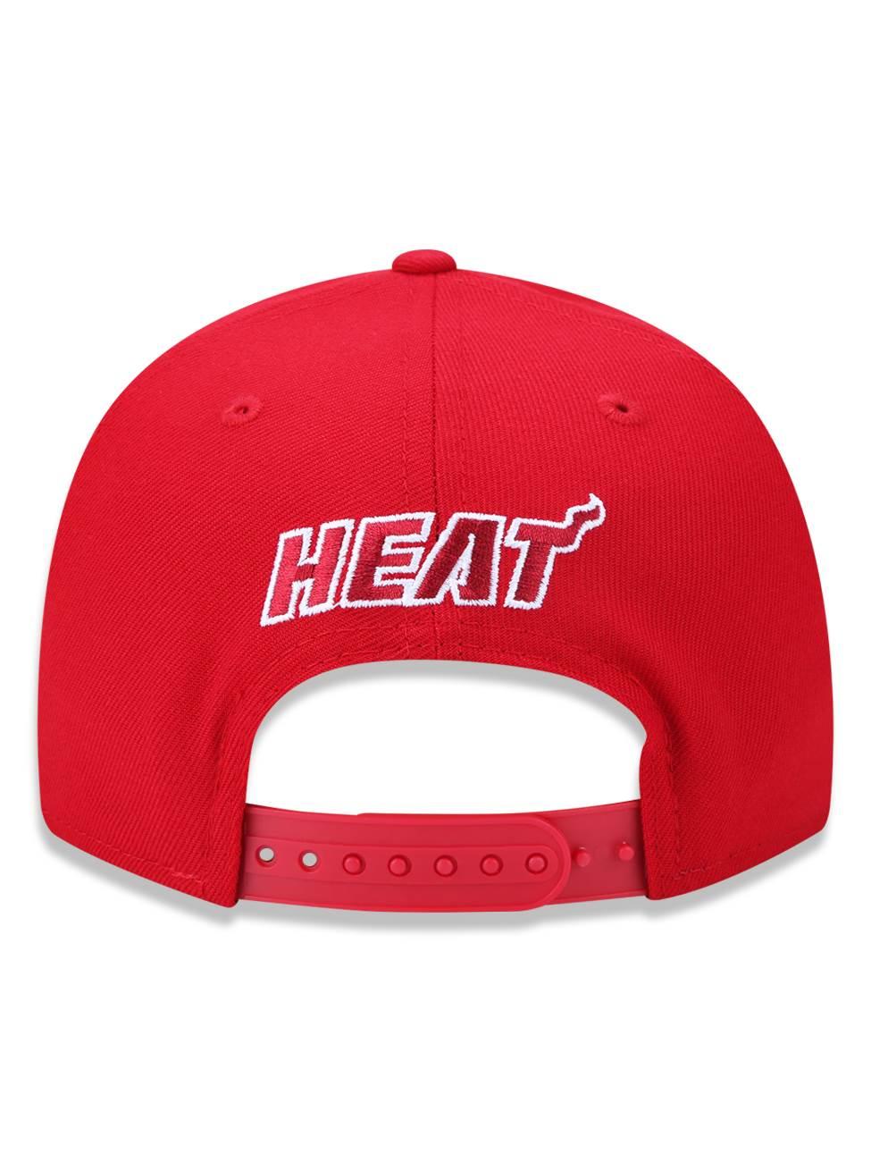 Boné New Era 9fifty NBA Miami Heat Team Color