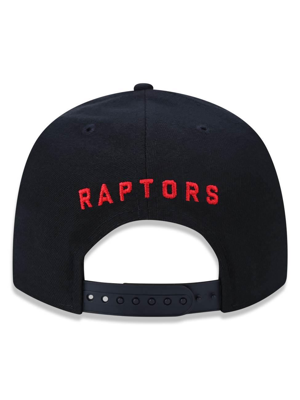 Boné New Era 9fifty NBA Toronto Raptors Black