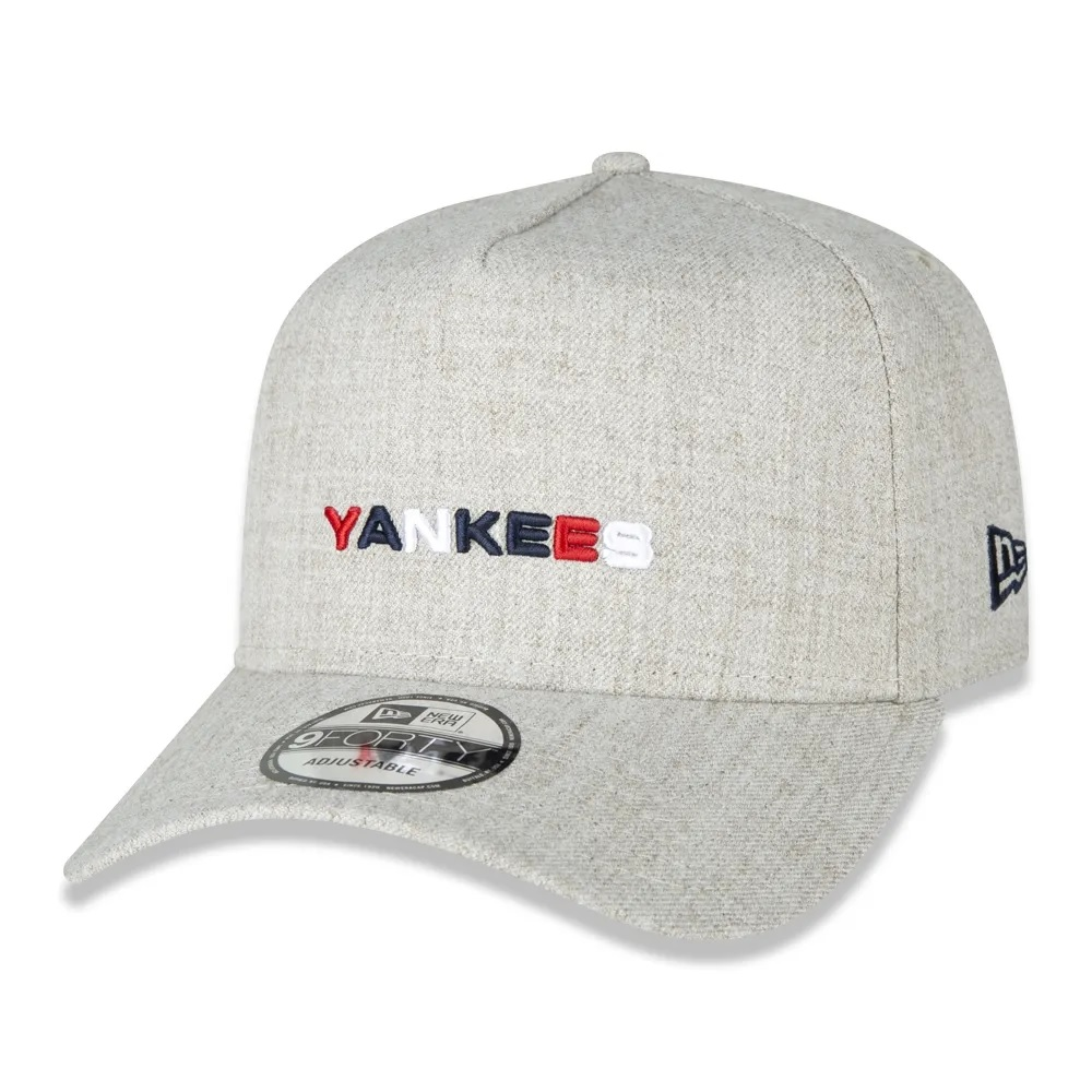 Boné New Era 9forty A-frame New York Yankees Areia