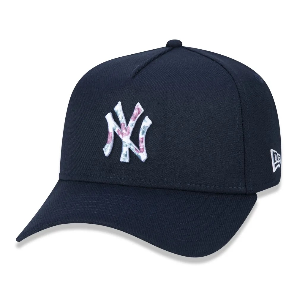 Boné New Era 9forty A-frame New York Yankees Marinho