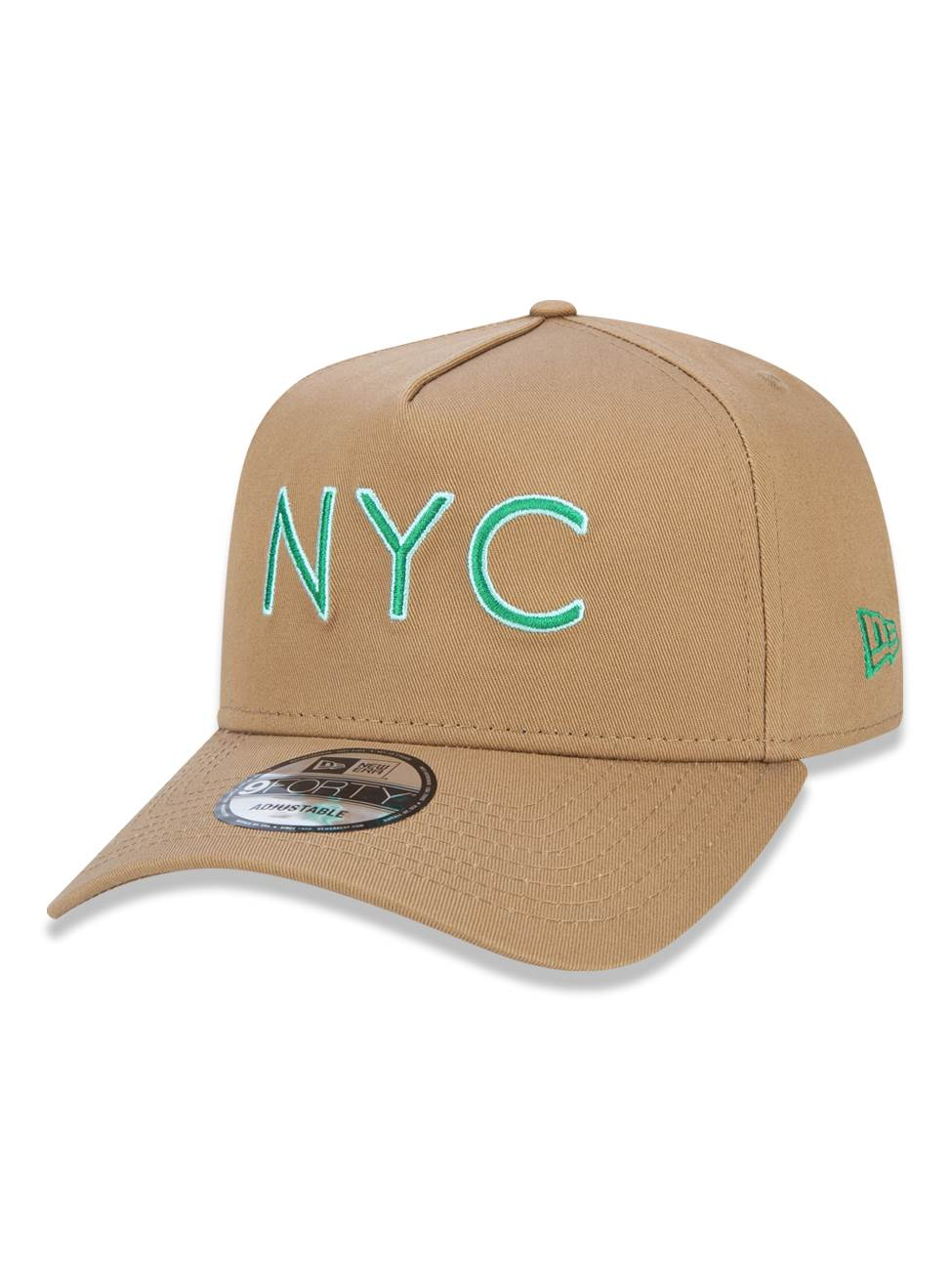 Boné New Era 9forty A-frame NYC Bege