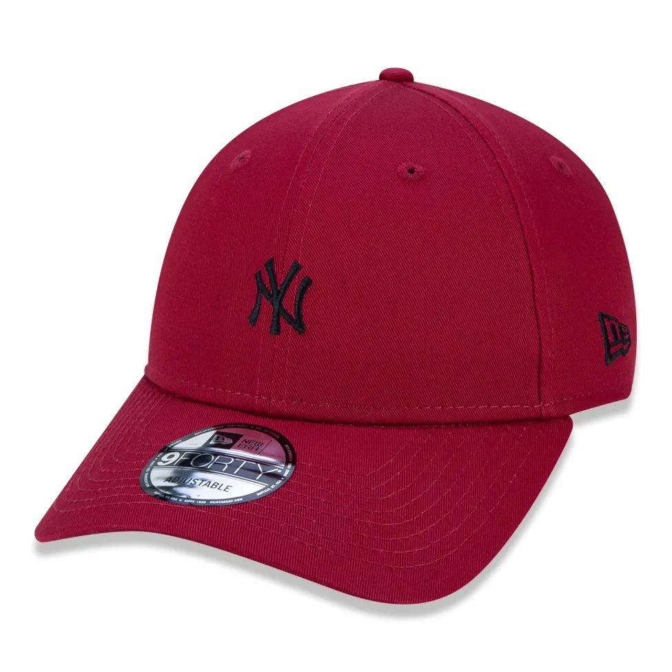 Boné New Era 9forty MLB New York Yankees Bordo