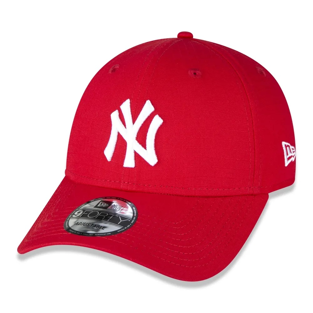 Boné New Era 9forty MLB New York Yankees Vermelho
