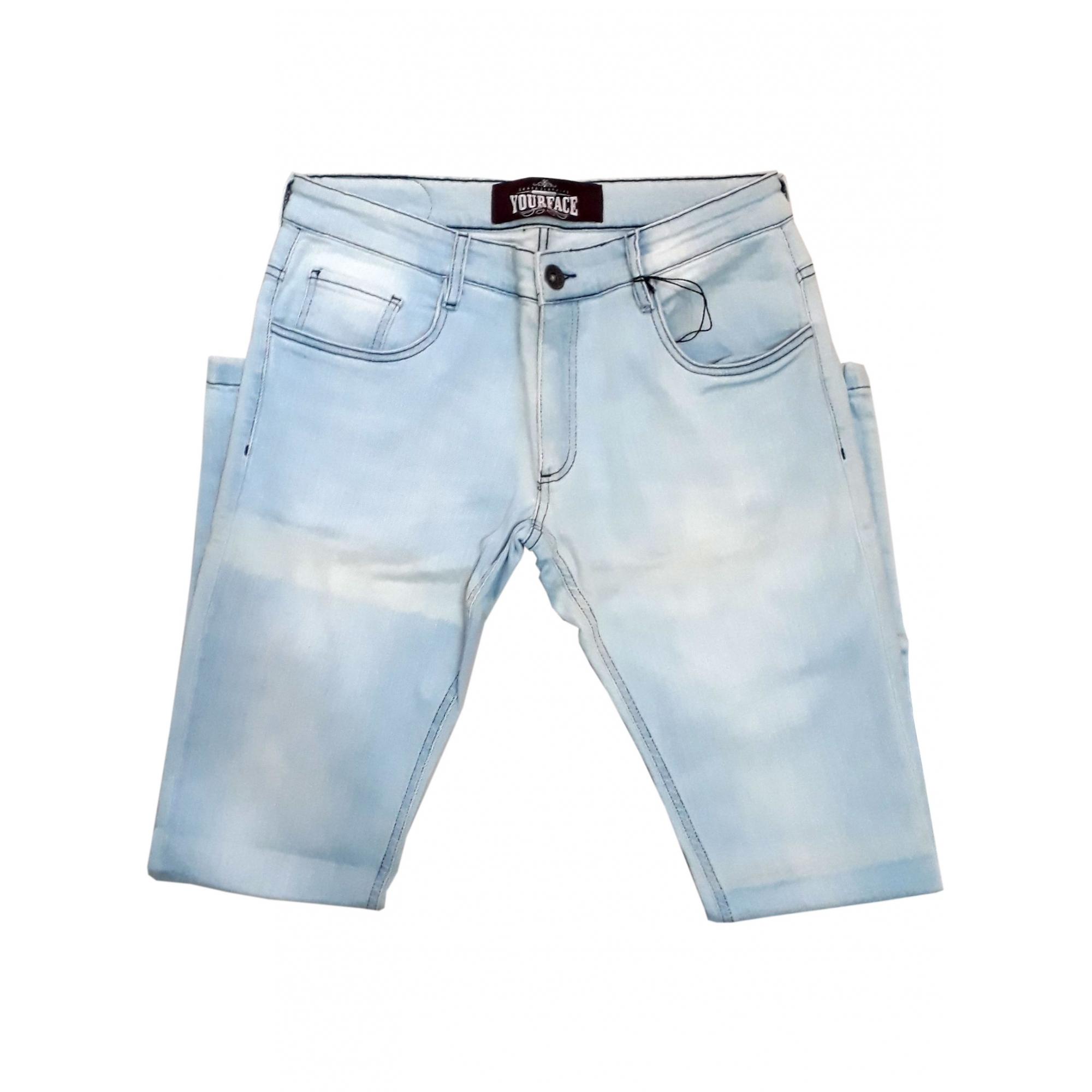 Calça Jeans Your Face Azul Claro