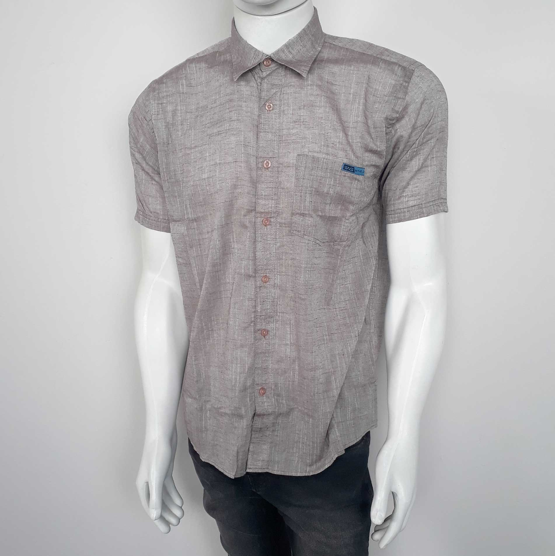 Camisa WG MC 324252 Marrom - GG