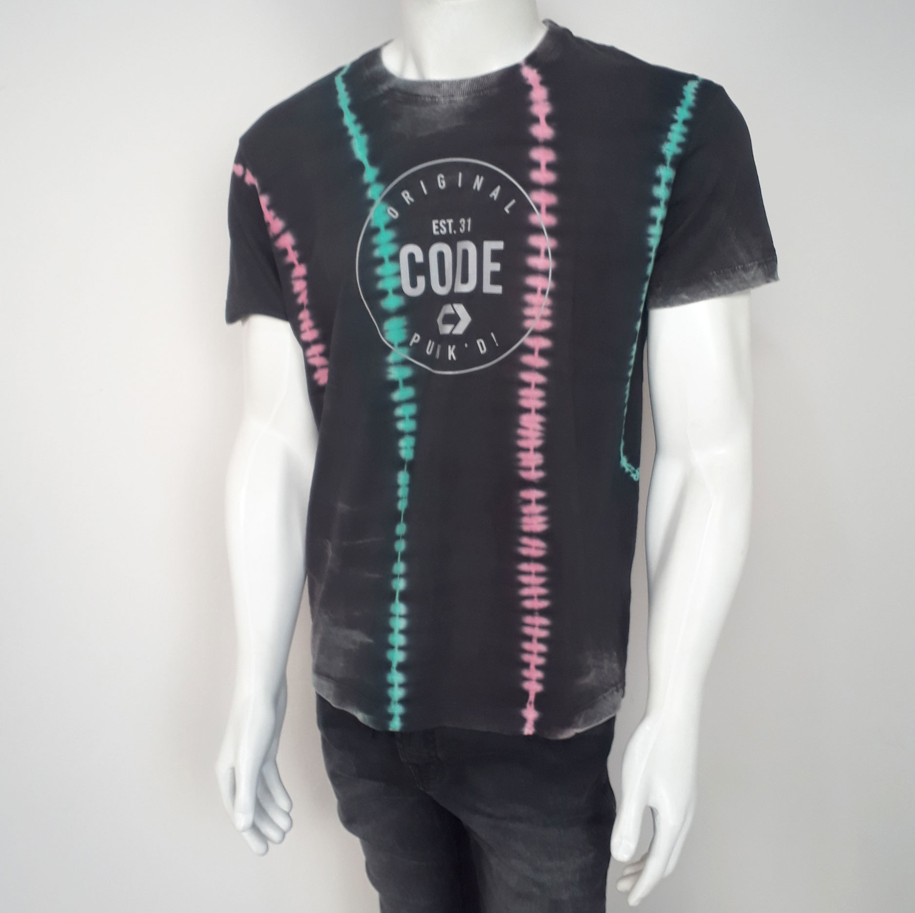 Camiseta Code Colors Preto - P