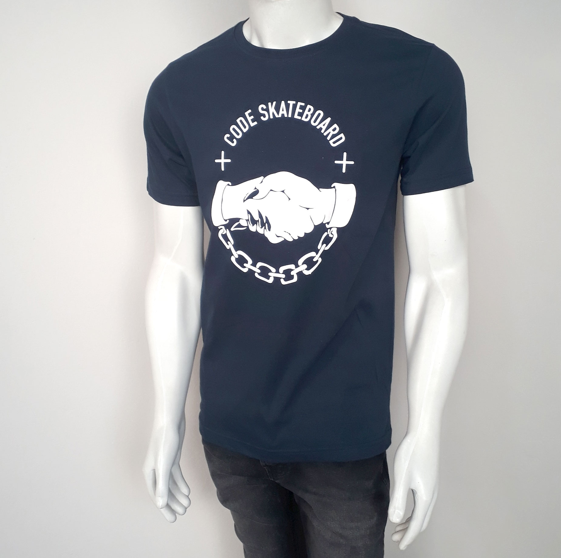 Camiseta Code Deal Marinho - P