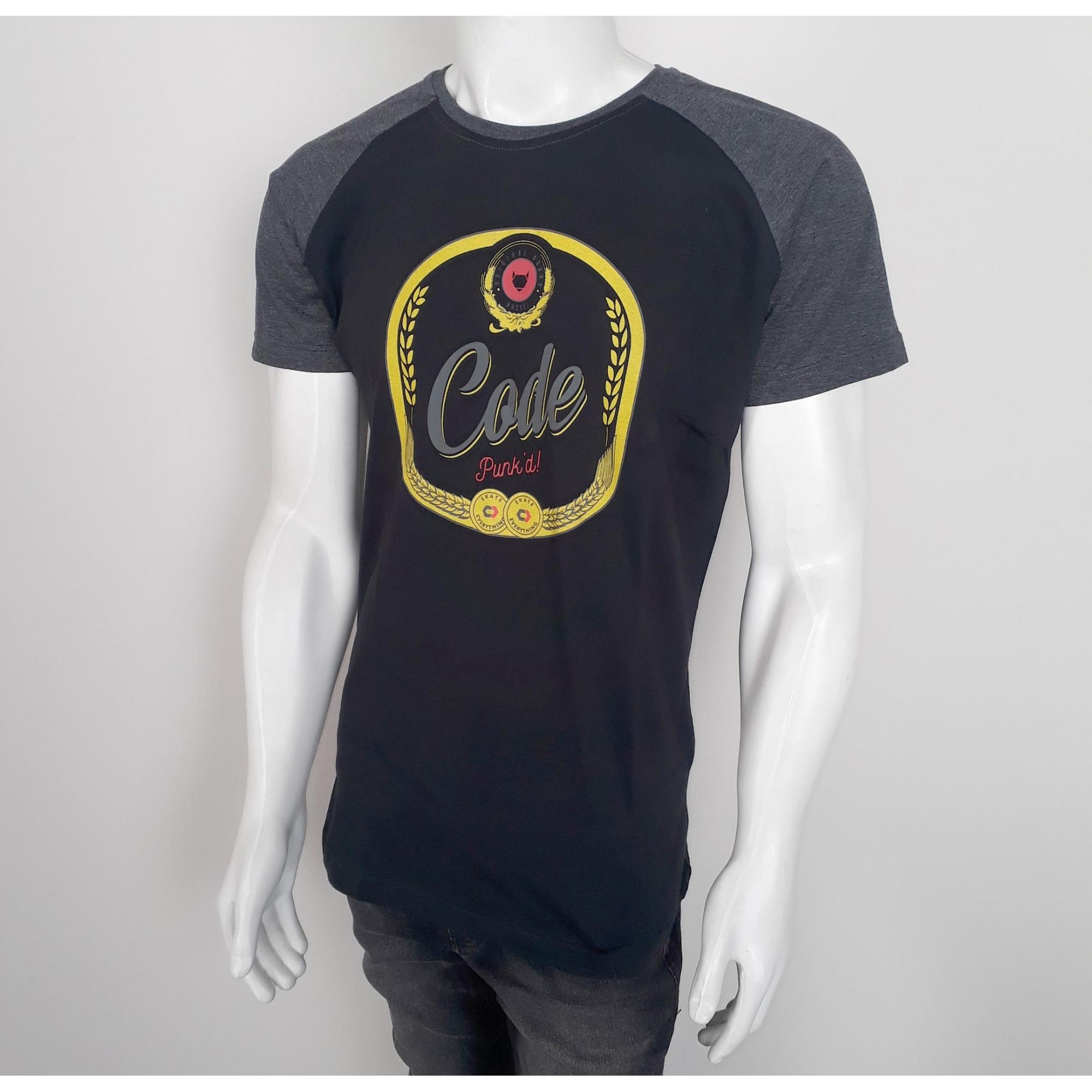 Camiseta Code Label Preto - M