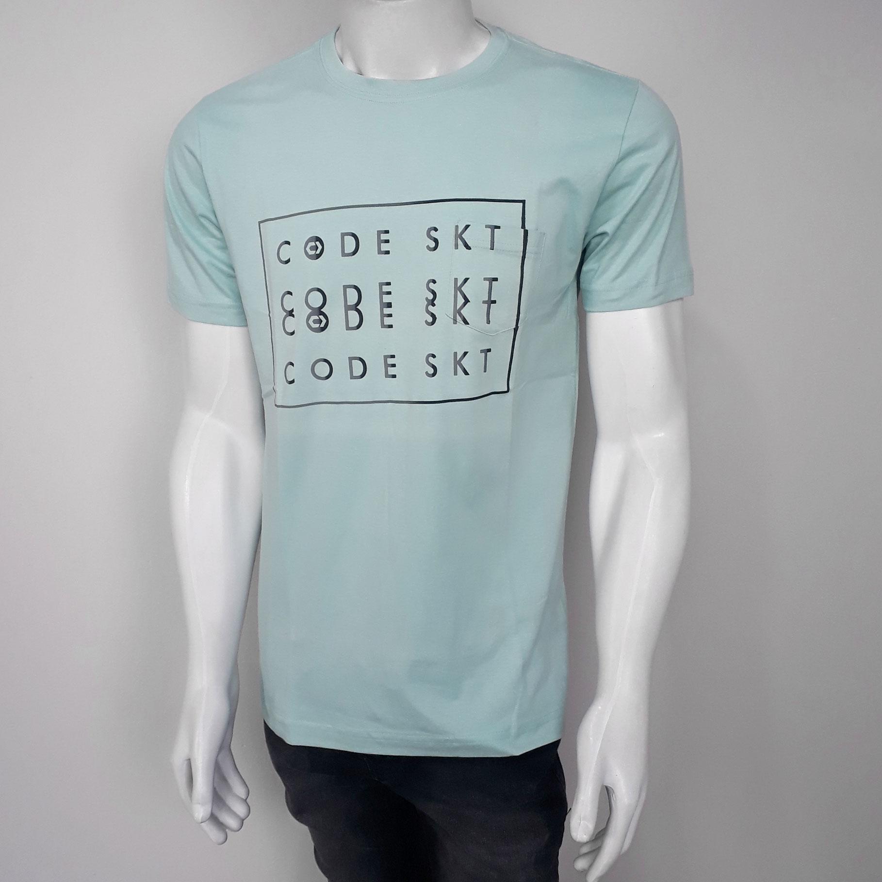 Camiseta Code Verde Claro - P