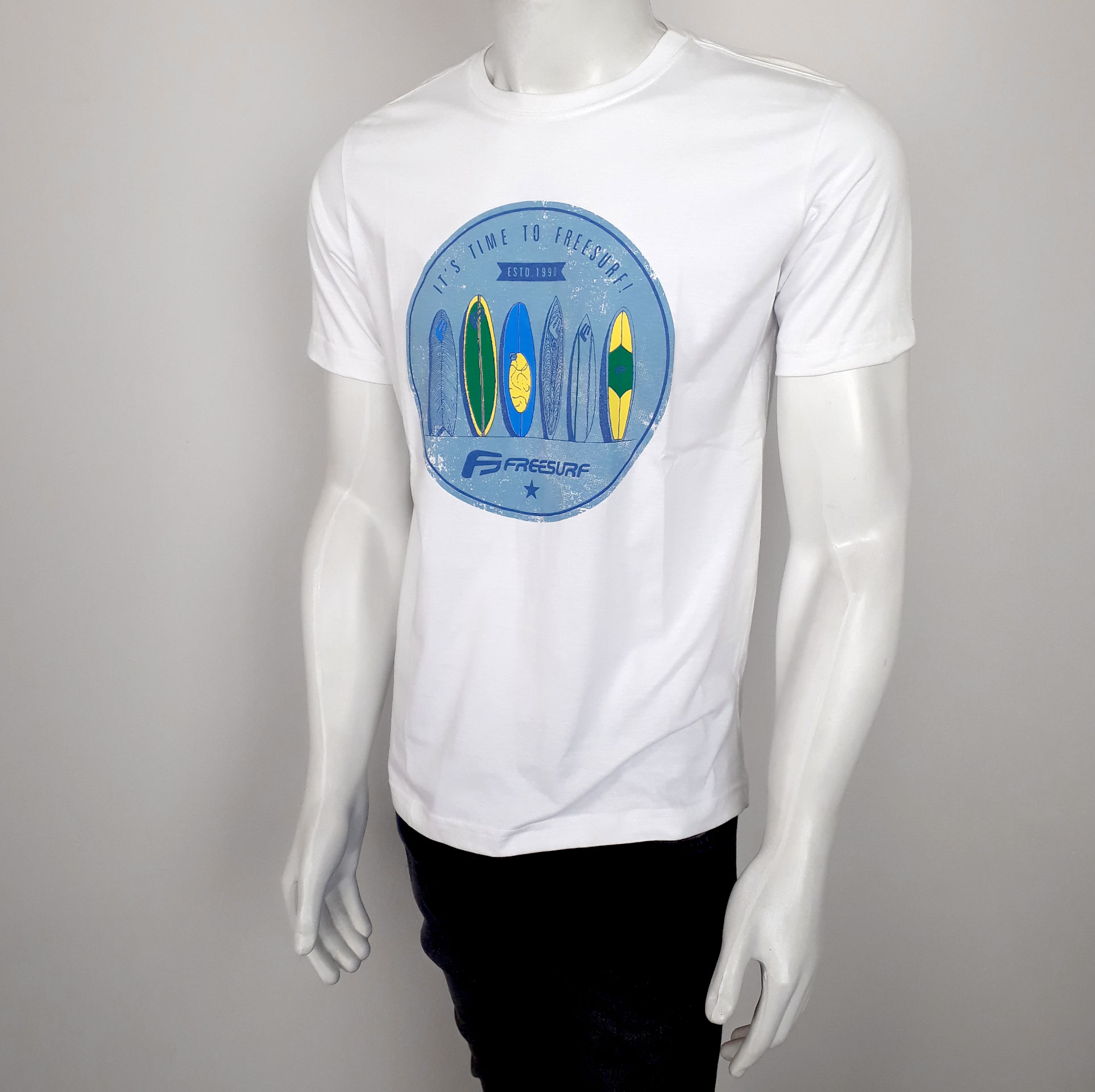Camiseta Freesurf Wind Branco - P