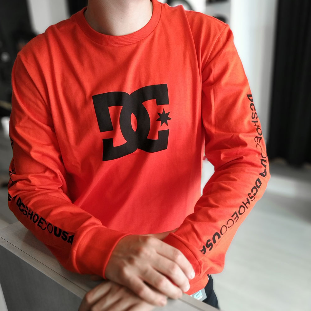 Camiseta Manga Longa DC Star Sleeve
