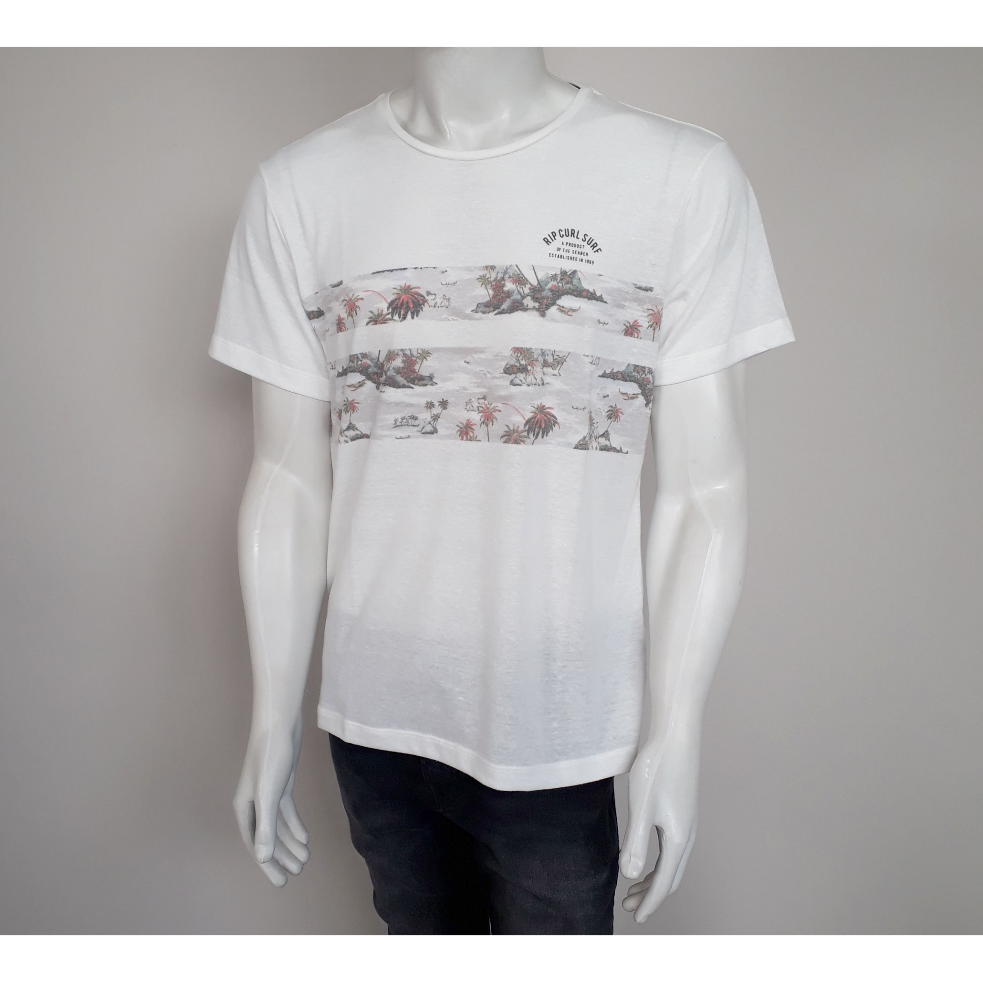 Camiseta Rip Curl Resort - P e G