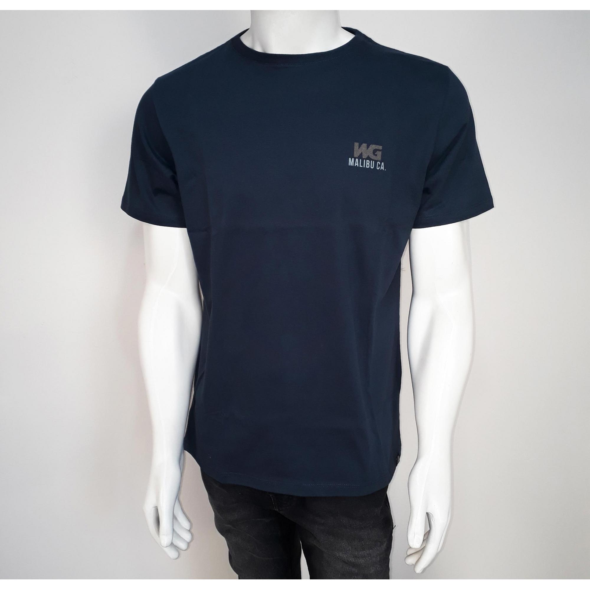 Camiseta WG Silk 336017 Marinho - M