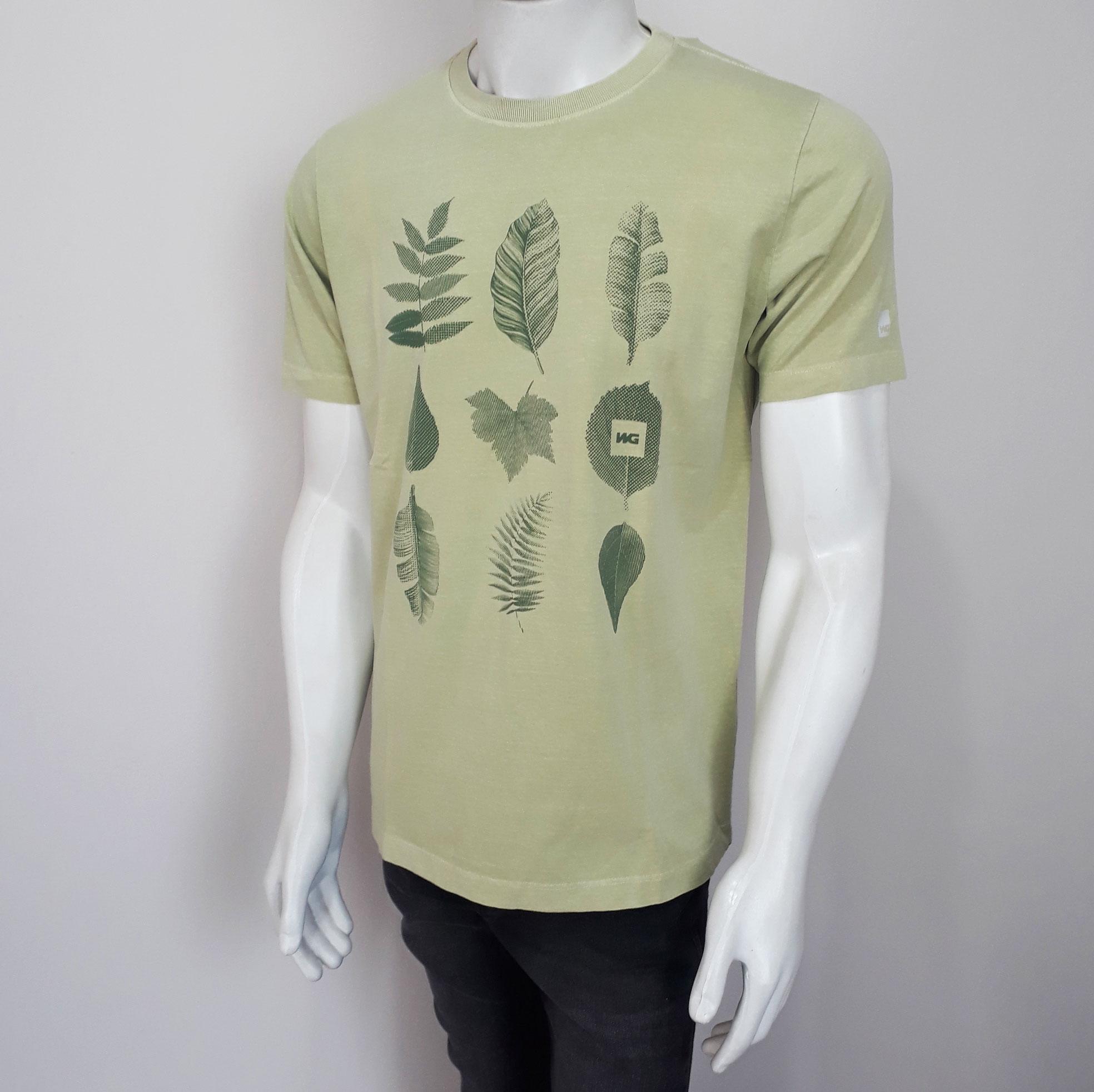 Camiseta WG Silk 337100 Verde - P