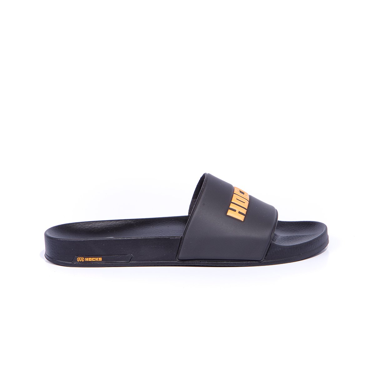 Chinelo Slide Hocks Black Orange