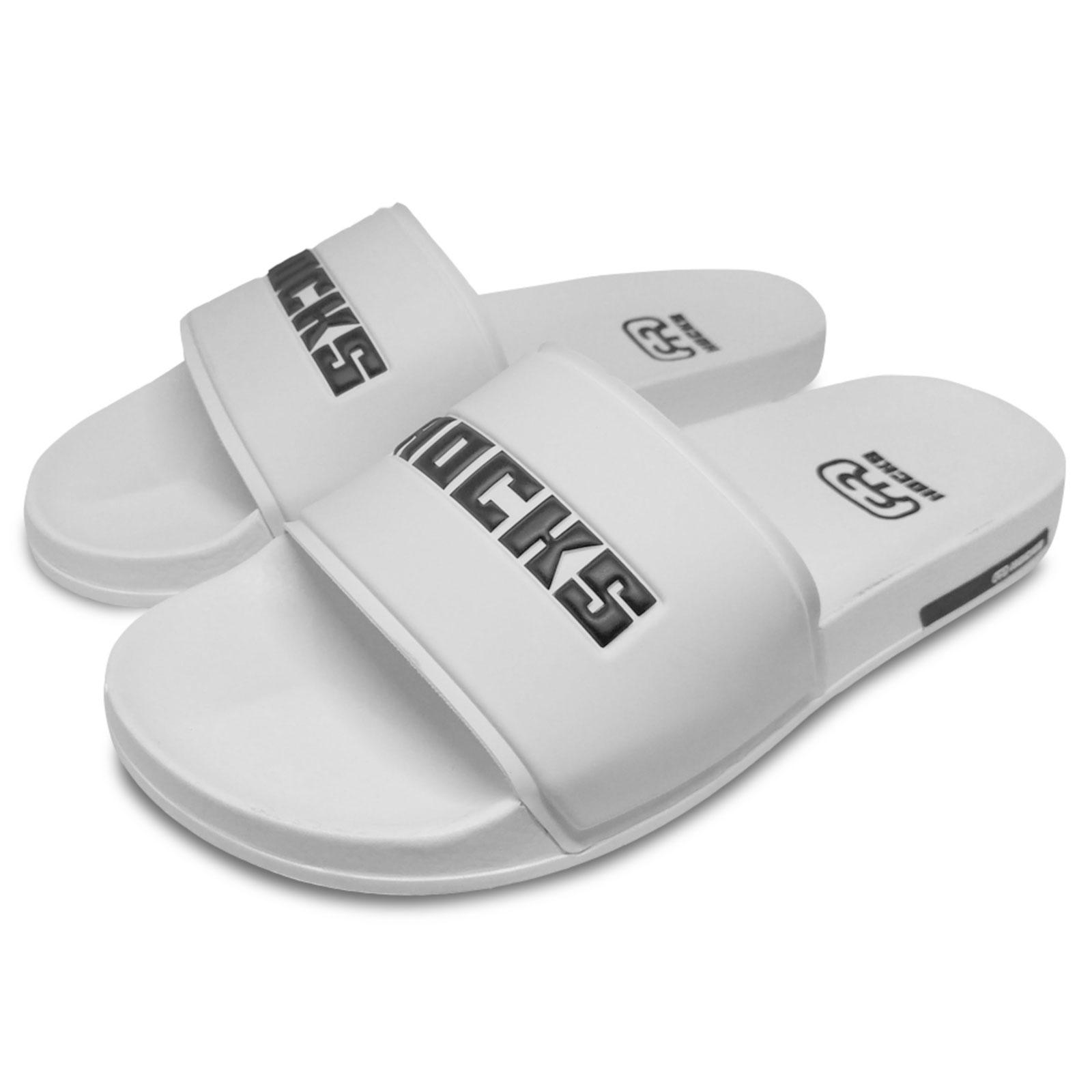Chinelo Slide Hocks White