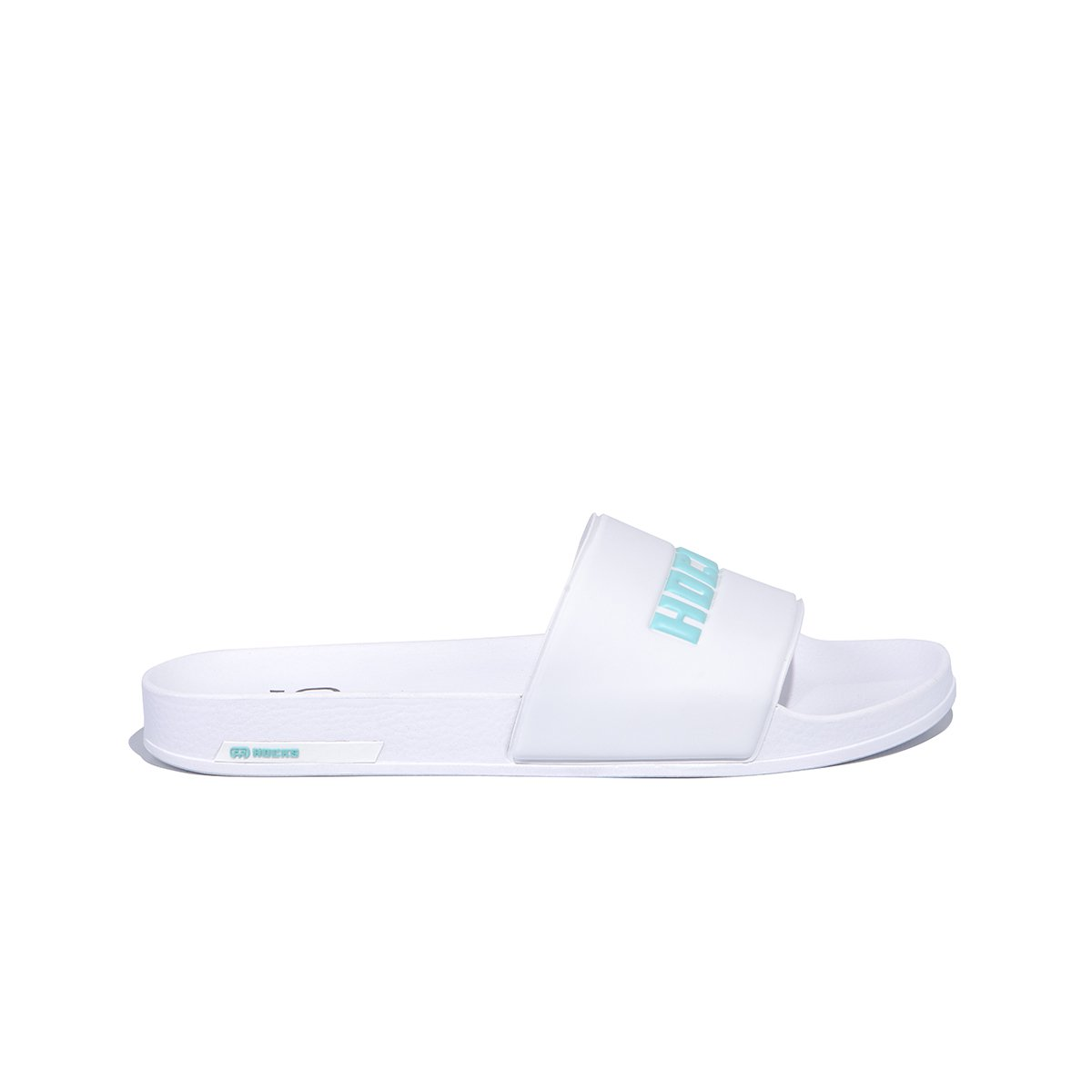 Chinelo Slide Hocks White Acqua