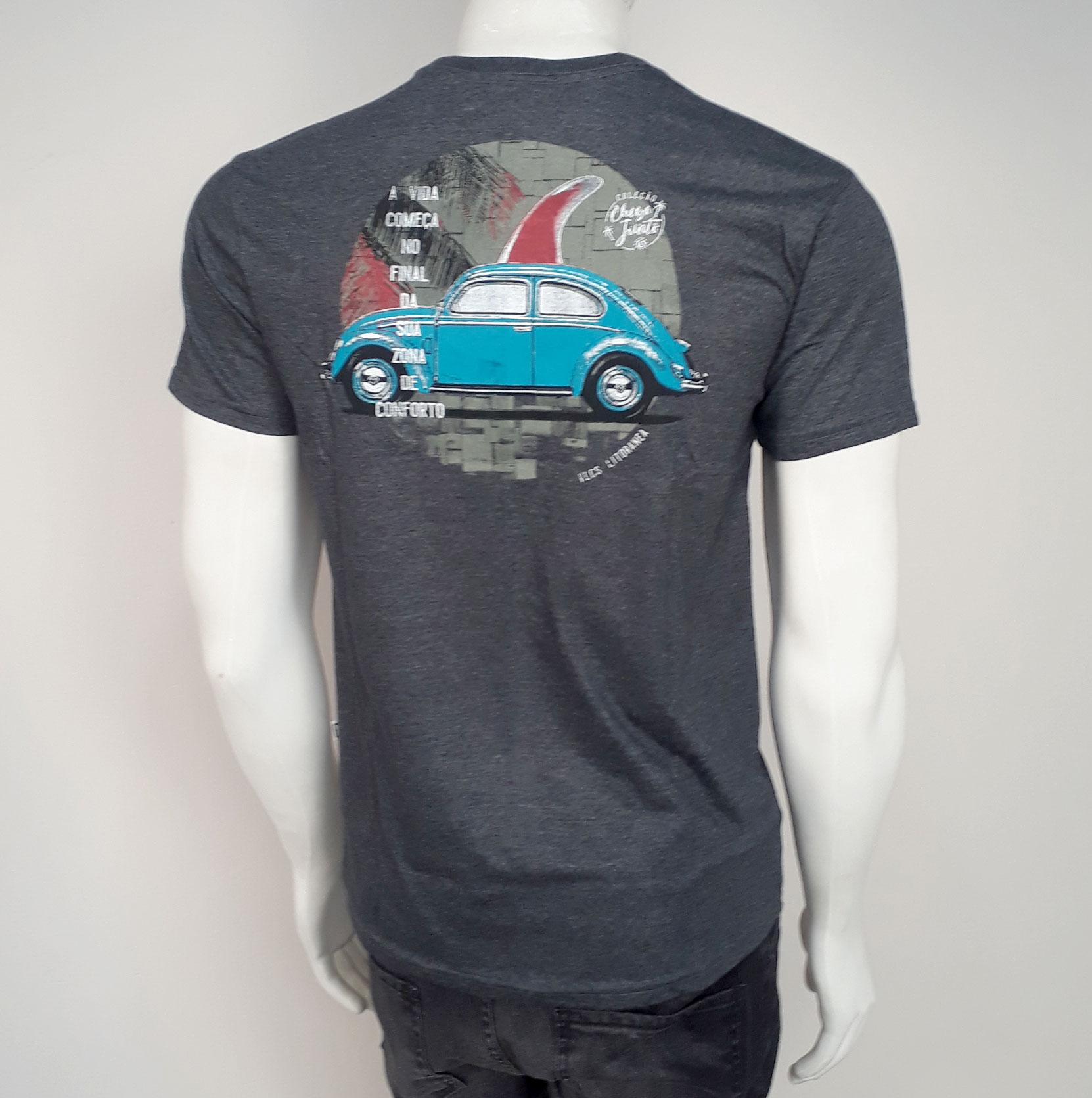 Camiseta VLCS Litoranea Chumbo - P