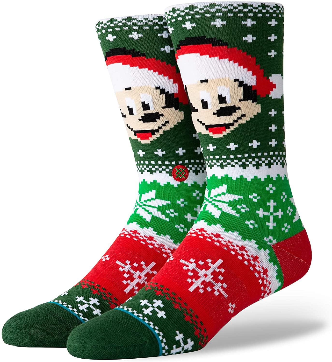 Meia Stance Vintage Mickey Claus