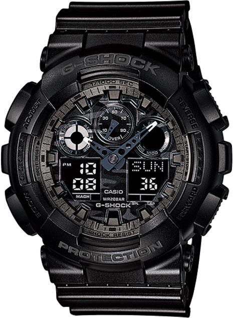 Relógio Casio G-Shock Preto GA-100CF-1ADR