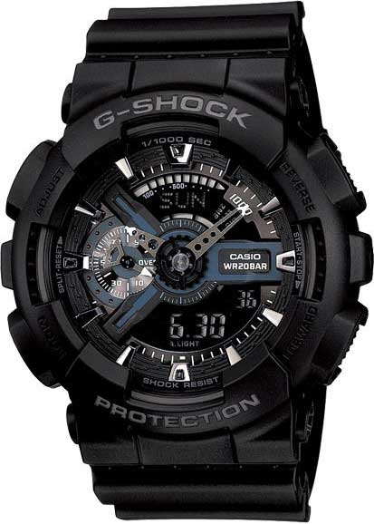 Relógio Casio G-Shock Preto GA-110-1BDR