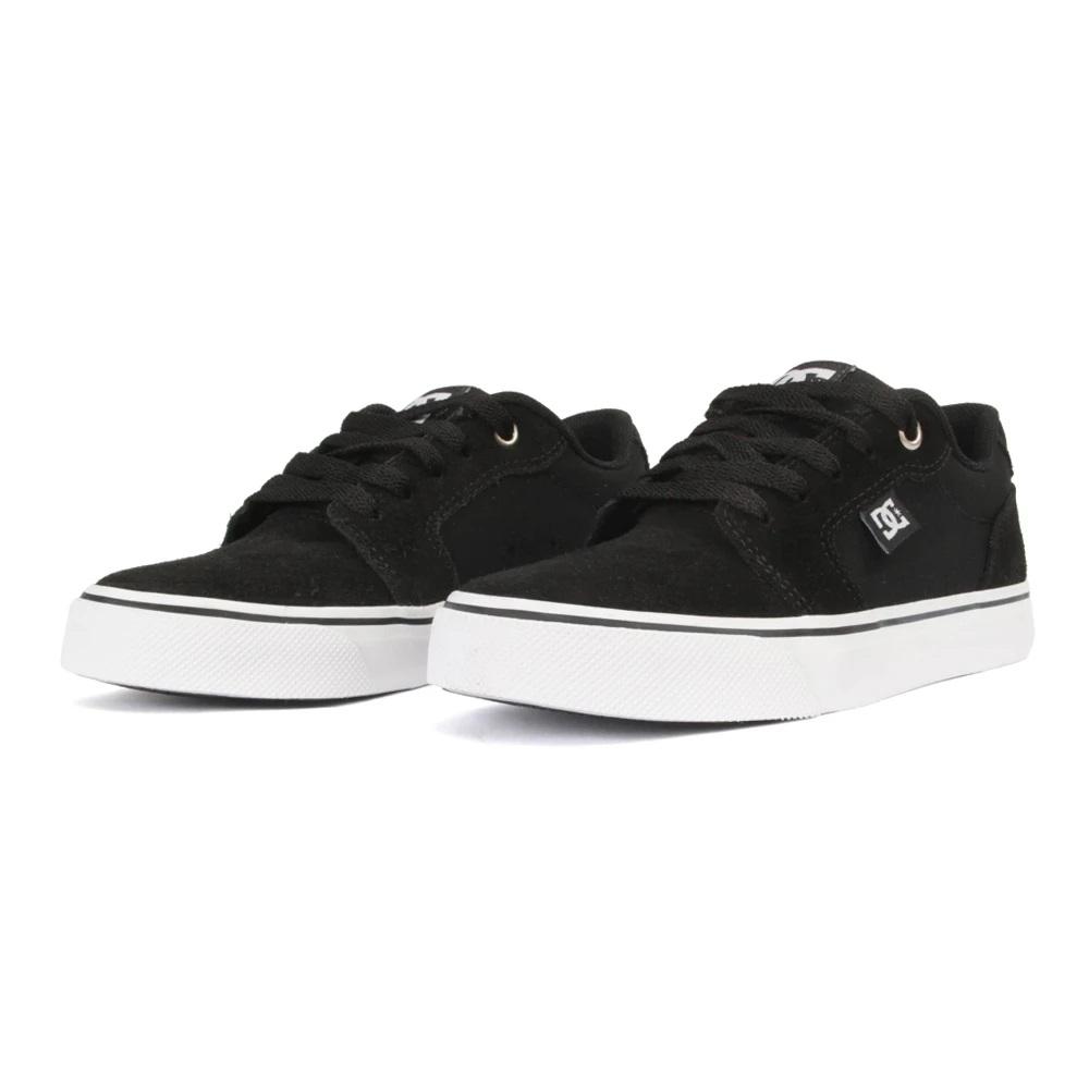 Tênis DC Shoes Anvil LA Black White