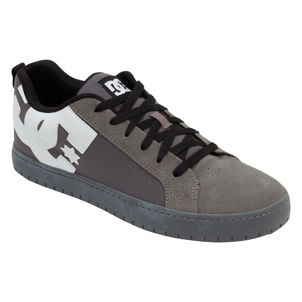 Tênis DC Shoes Court Graffik TX Grey Black