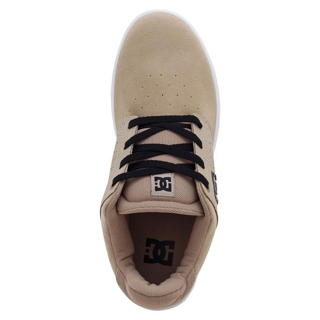 Tênis DC Shoes Plaza TC Bege